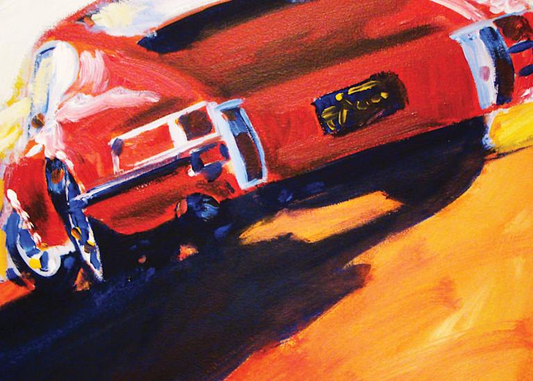 Red Early Porsche 911  Art | Telfer Design, Inc.