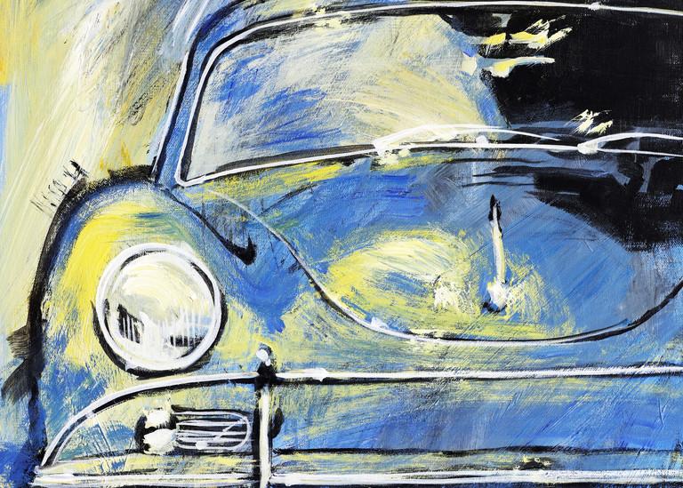 Blue Yellow 356 A Art | Telfer Design, Inc.