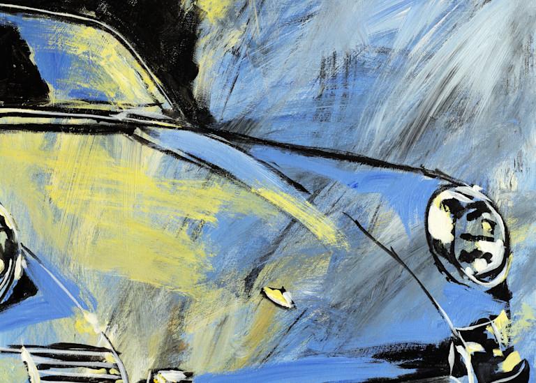 Blue Yellow Early 911 Art | Telfer Design, Inc.