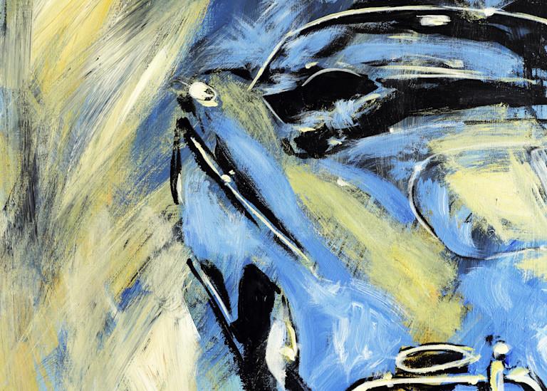 Blue Yellow Speedster  Art | Telfer Design, Inc.