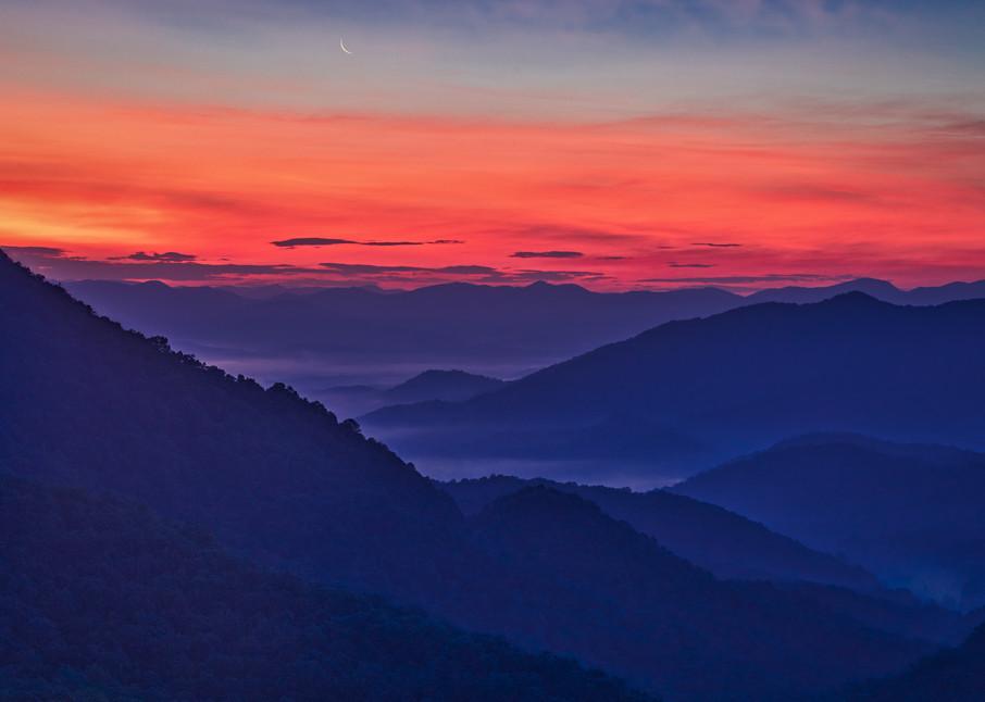 Nantahala sunrise photography print