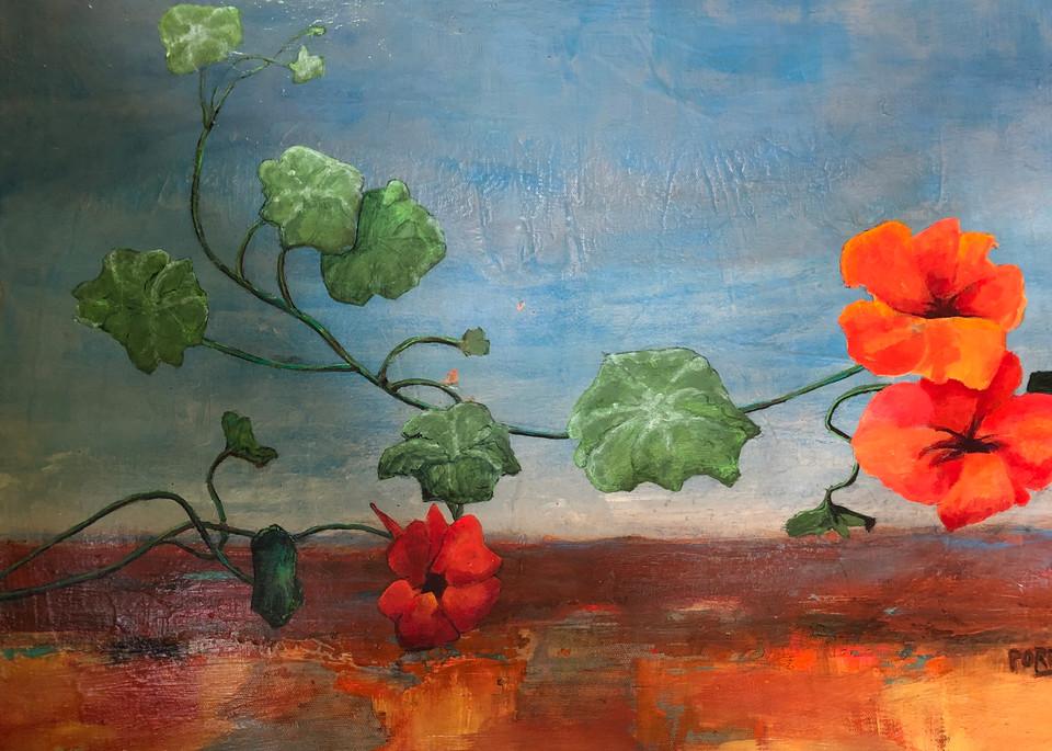 Bloom Where You Are Planted Art   PoroyArt