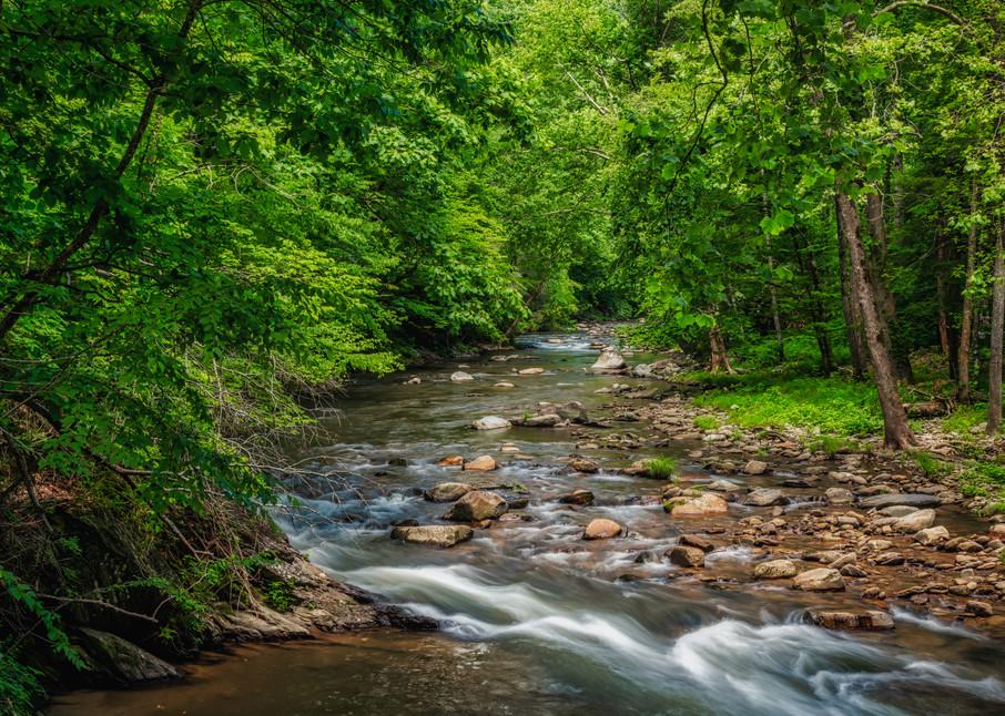 Nantahala River runs through it photography print