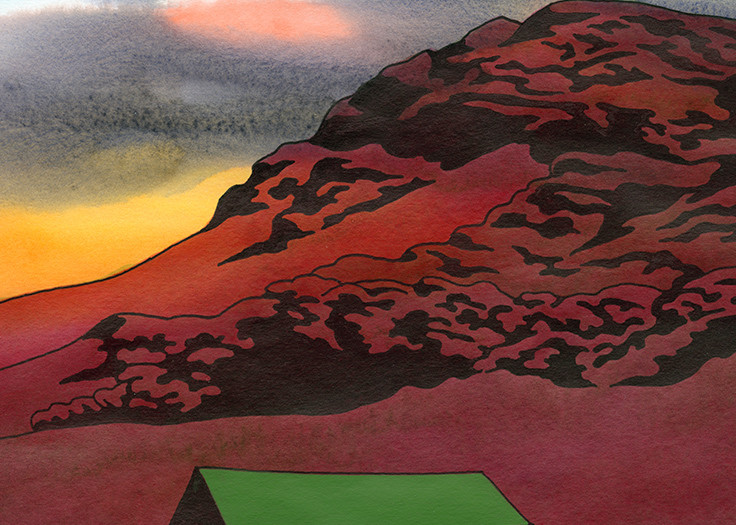 Daydream Of The Legendary Hut Art | Fine Art New Mexico