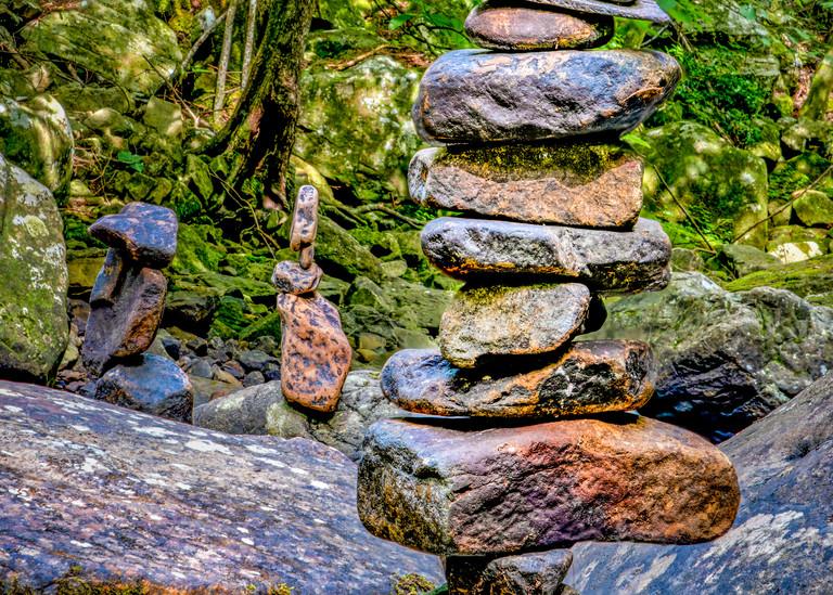 Totem to solitude Cloudland Canyon photography print