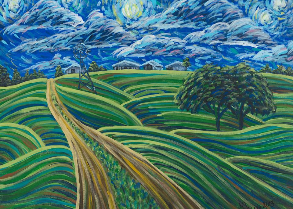Midnight At Grandma's Art | a.dawn art