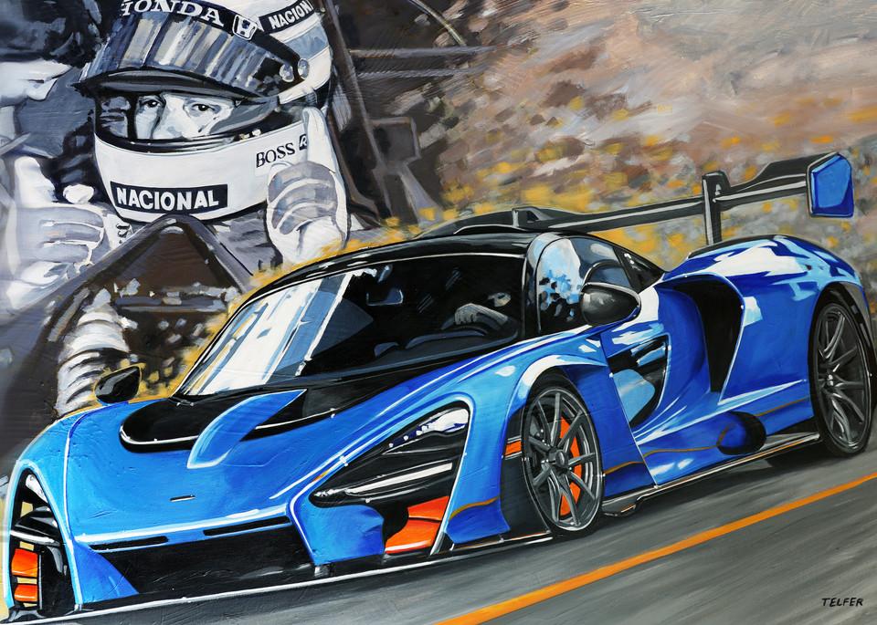 Mc Laren Senna  Art   Telfer Design, Inc.