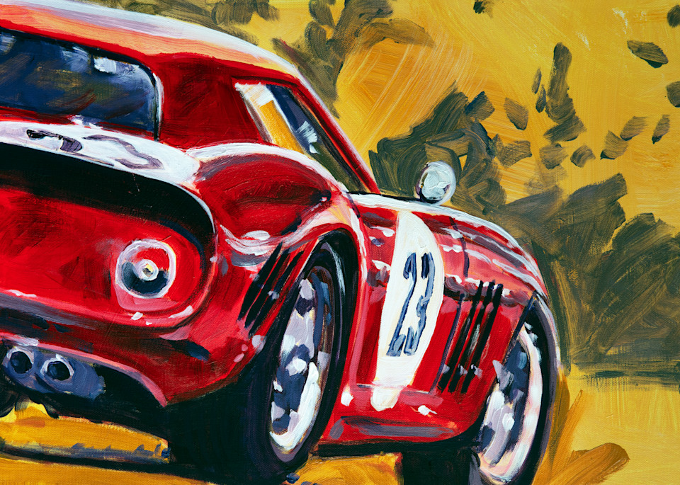 Ferrari 250 Gto Art | Telfer Design, Inc.