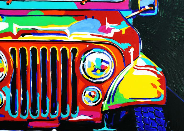Jeep High 5 Fun! Art   Telfer Design, Inc.