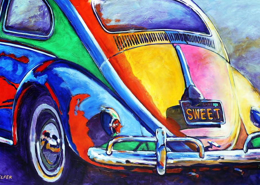 Sweet Vw Bug Art   Telfer Design, Inc.