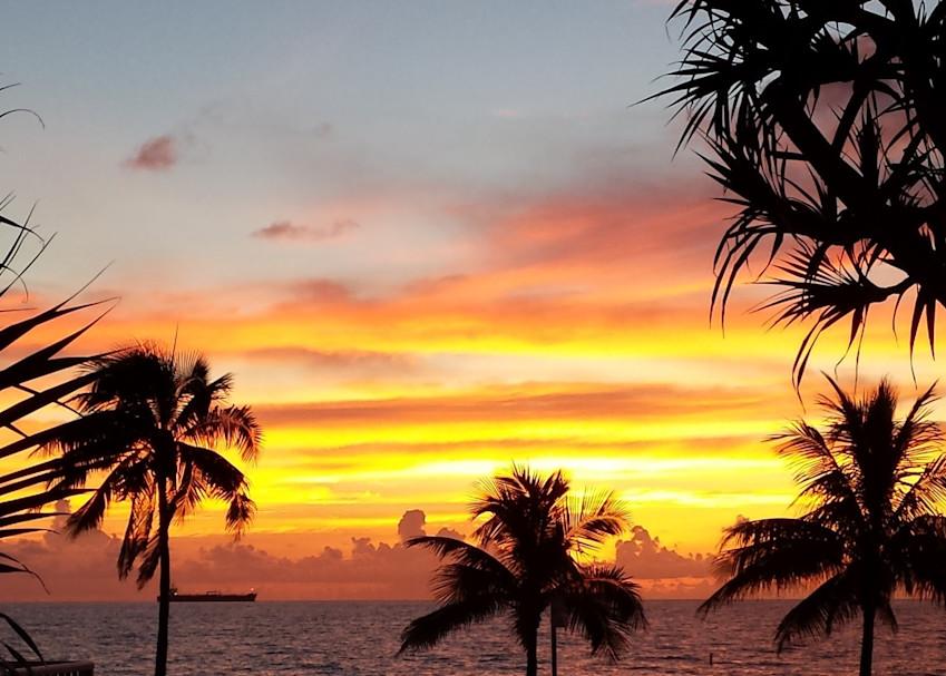 Sunset Ft. Lauderdale Art | Patricia Franklin