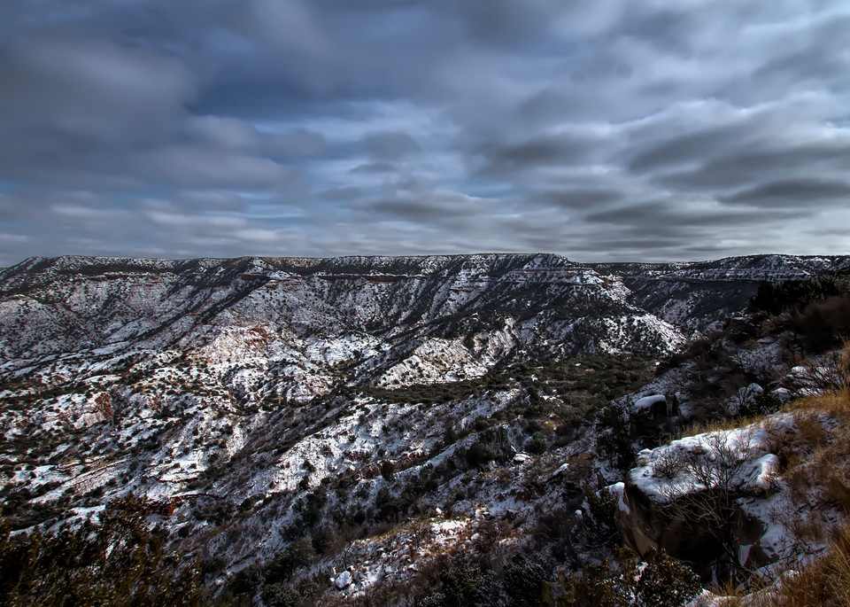 Overlook and snow