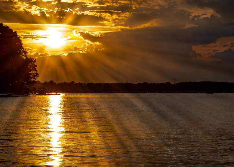 Sunset Lake Norman, North Carolina   Shop Prints   Robert Shugarman Photography