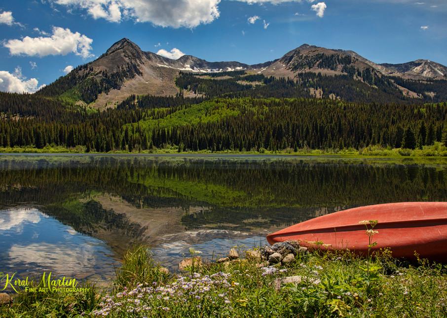 Lost Lakes Mountain Reflection 6548 Photograph | Colorado Photography |  Koral Martin Fine Art Photography