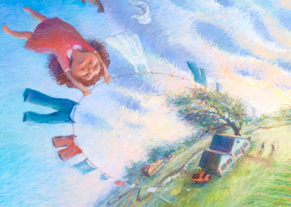 Airing Out (Stephanie series) fine art print