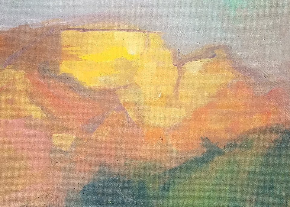 Twilight In Sedona Art | Peg Connery-Boyd Artwork