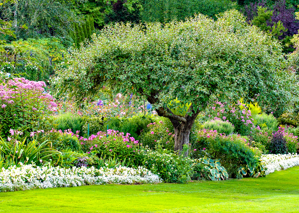 Butchart, Gardens ,Photograph, Home-Decor,