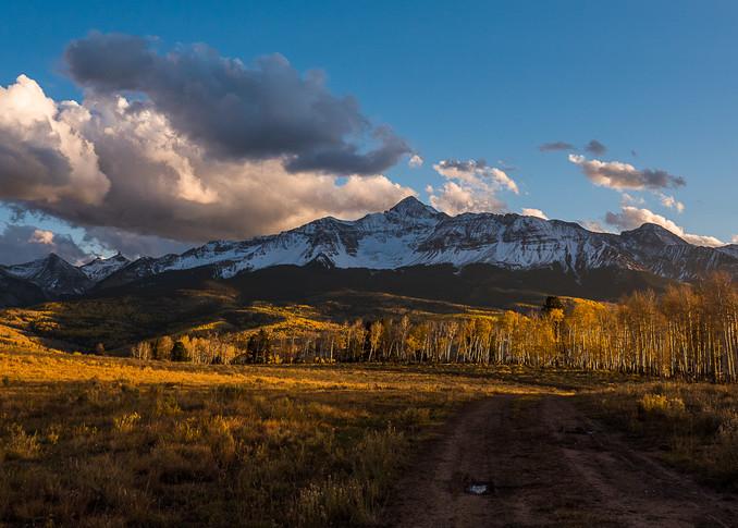Wilson Peak Sunset Photography Art | Peter Batty Photography