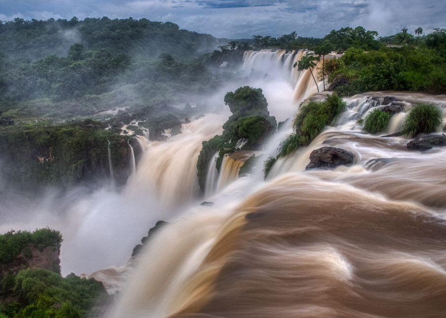 Iguassu Falls On The Argentinian Side Photography Art | Peter Batty Photography