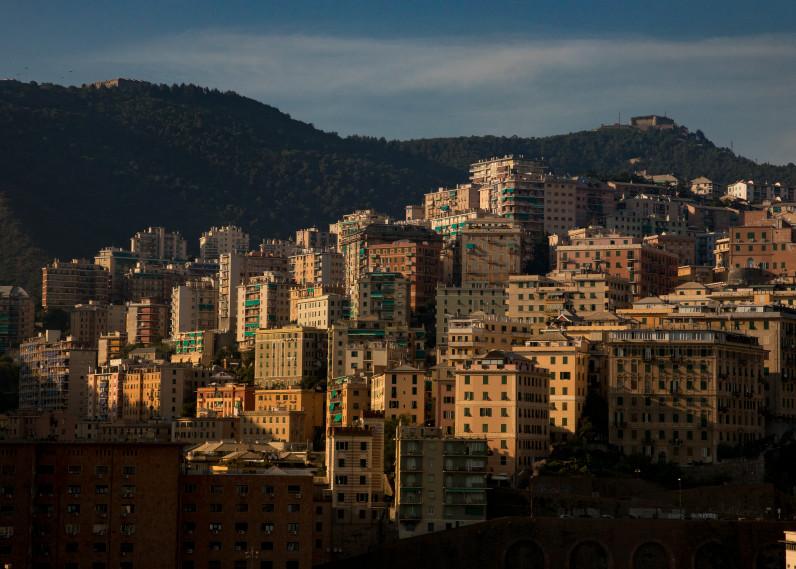Genoa Italy, Sunset Photography Art   Leiken Photography