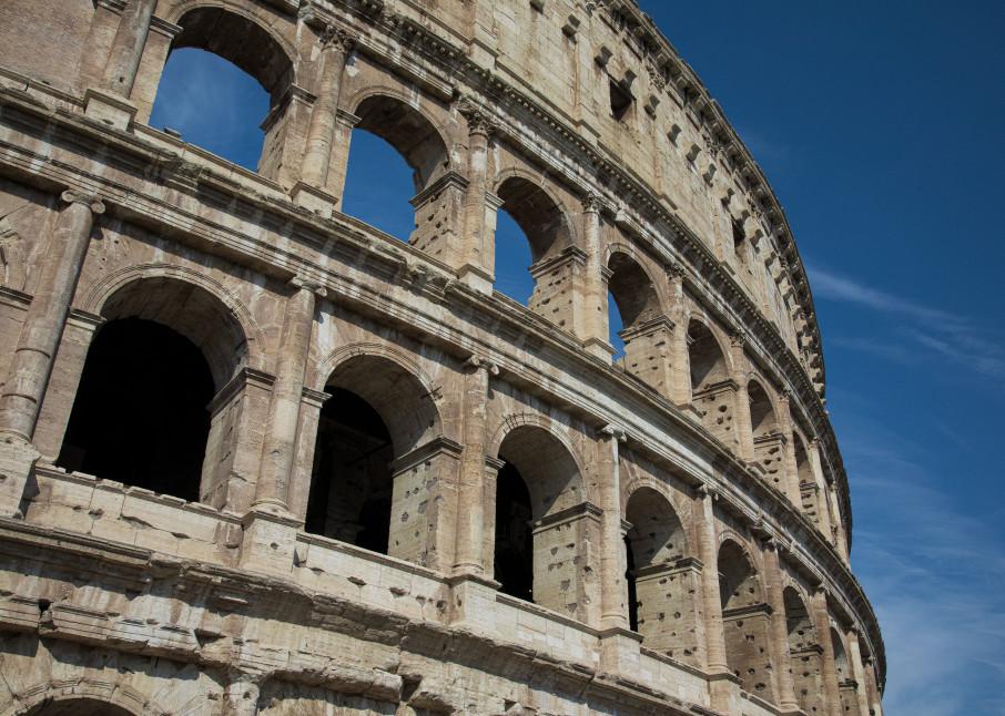 Rome Coliseum 1 Photography Art | Leiken Photography
