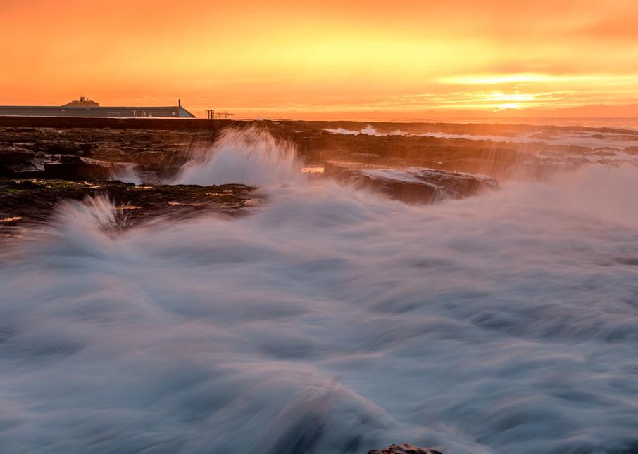 Sunrise is my favourite colour - Newcastle Ocean Baths NSW Australia Beach Sunrise