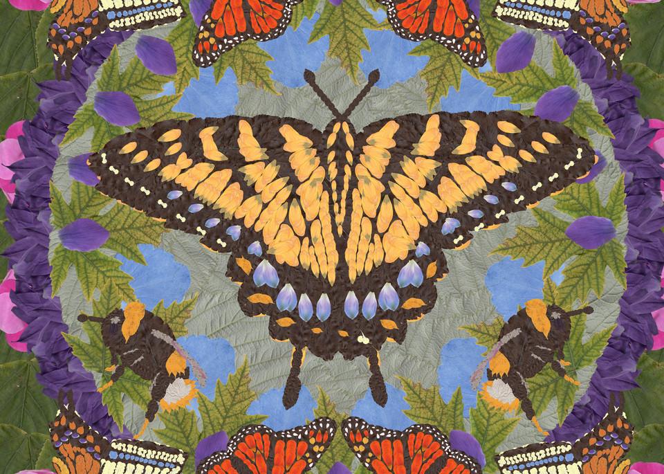 Butterflies And Bees Art | smacartist