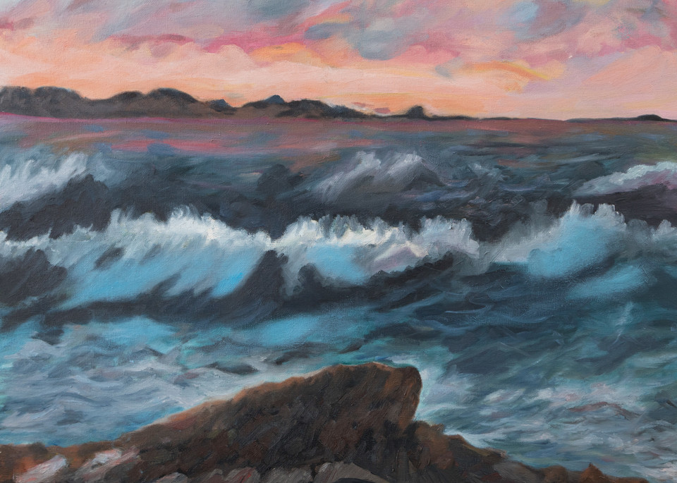Seascape, Big Sur, Fine art print