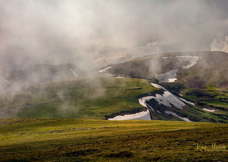 Clouds at Tundra Photograph in Rocky Mountain National Park 7856 | Colorado Photography | Koral Martin Fine Art Photography