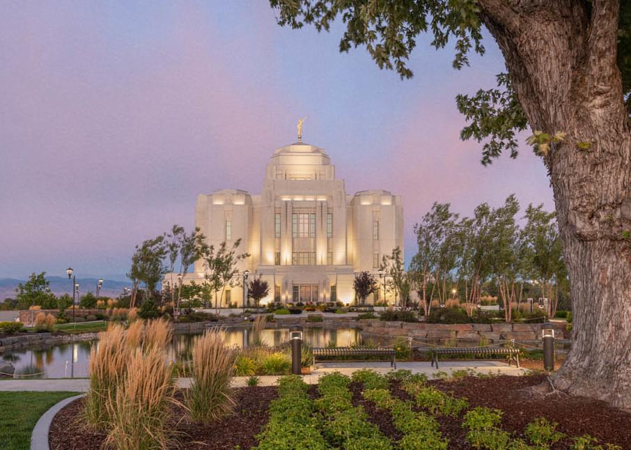 Meridian Idaho Temple - A House of Peace