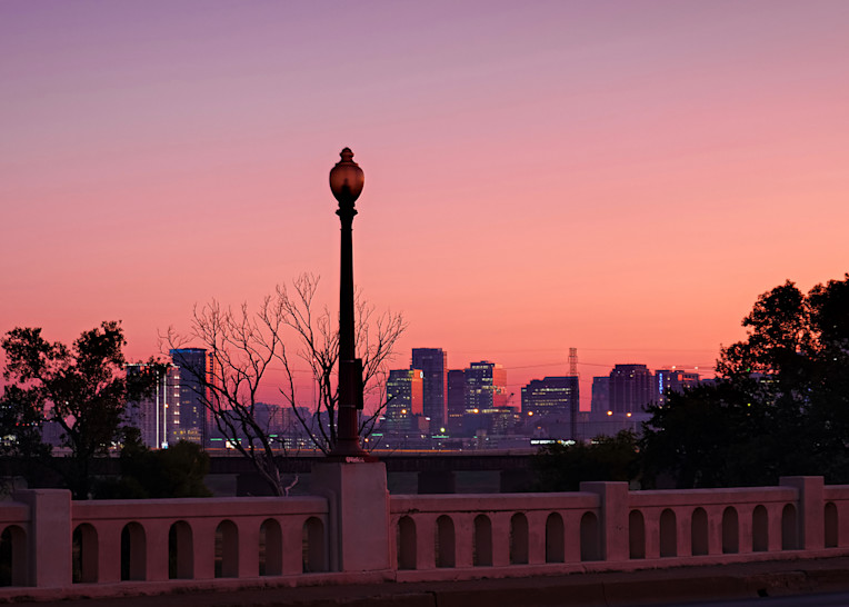 Dallas Skyline At Dawn 2 Photography Art | Drone Video TX