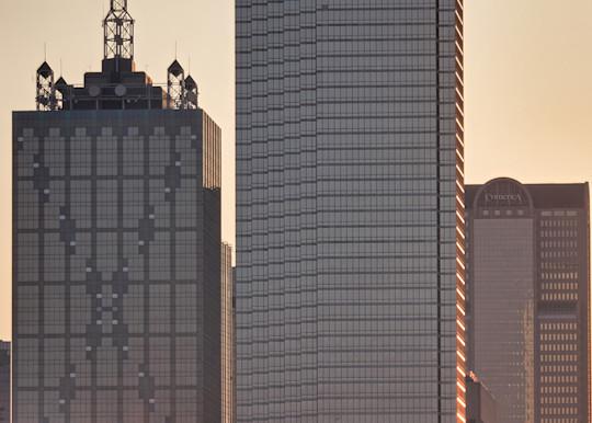 Dallas Skyline At Dawn 6 Photography Art | Drone Video TX