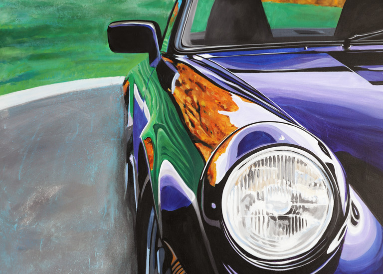 Porsche 911 Carrera Art | Telfer Design, Inc.