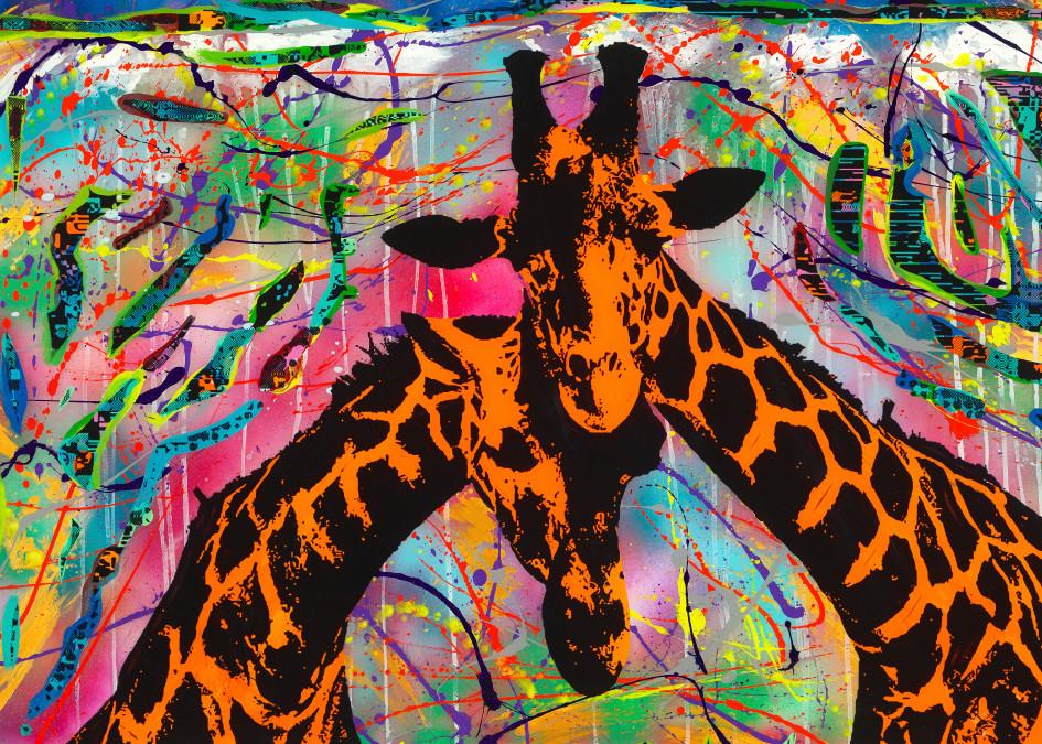 Love On The Serengeti   Animal Art   JD Shultz Art