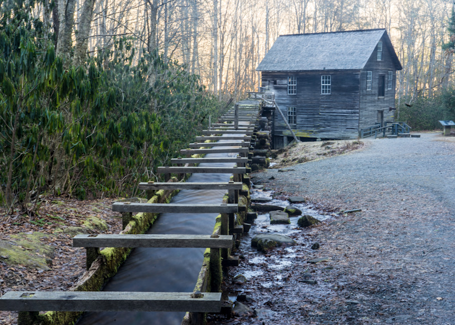 Mingus Mill, Smoky Mountains Mational Park Art | Drew Campbell Photography