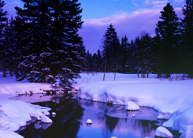 Duck Creek Winter Photography Art | Craig Primas Photography