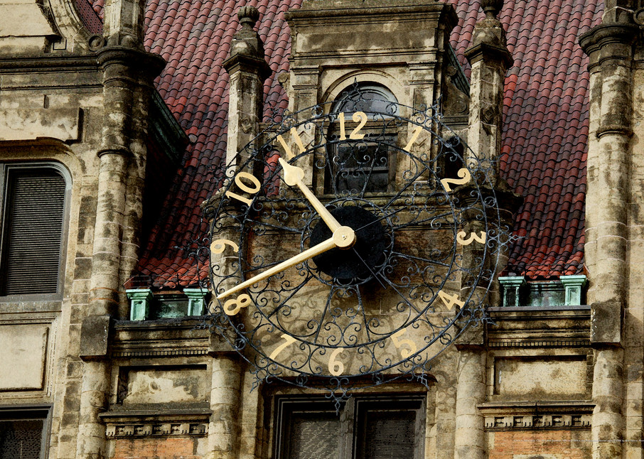 Time Is A Fleeting - St. Louis City Hall Clock
