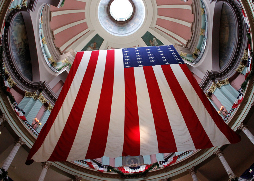 Garrison Flag At Historic Old Courthouse Art | Moore Design Group