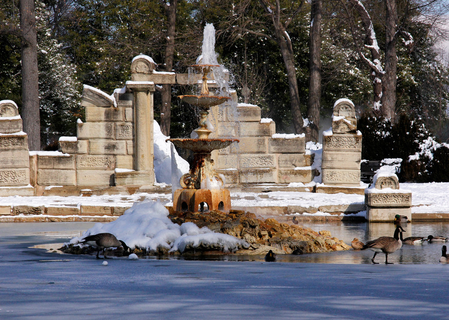 The Ruins At Tower Grove Park Art   Moore Design Group