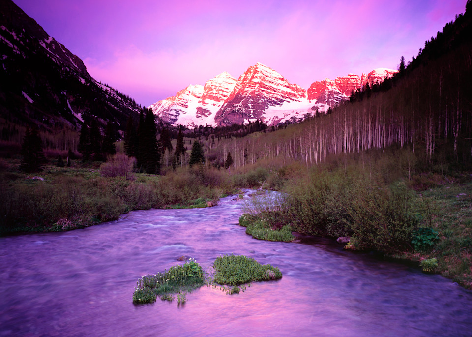 Maroon Bells Purple Haze Photography Art | Craig Primas Photography