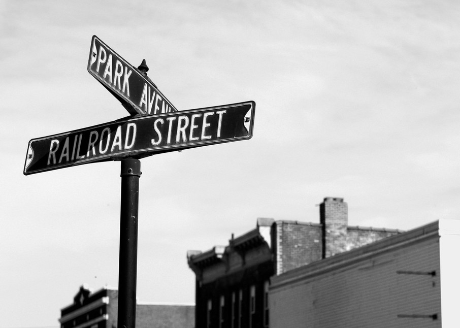 Mill Town Intersection Photography Art | Peter Welch