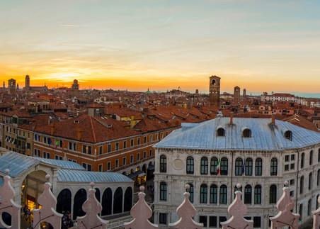 Venice Rooftop Vista Photography Art   Craig Primas Photography