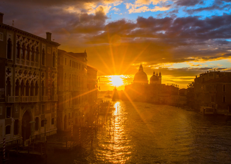 Grand Canal Sunrise Photography Art | Craig Primas Photography