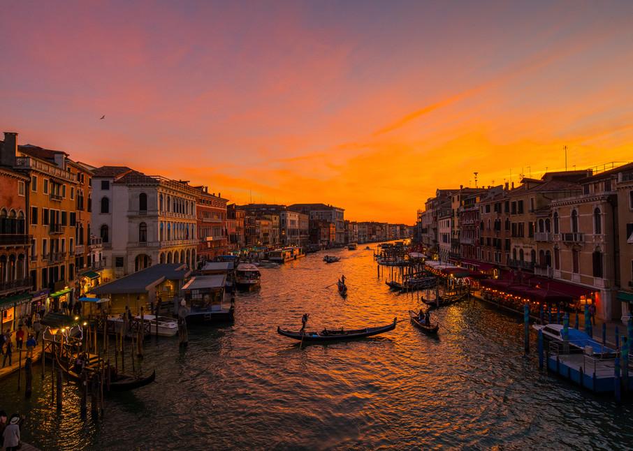 Grand Canal Sunset Photography Art | Craig Primas Photography