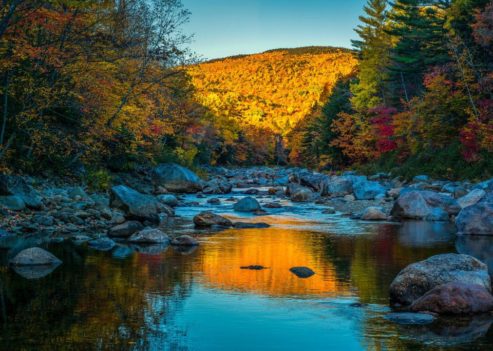 White Mountains Creek Reflection Photography Art | Craig Primas Photography