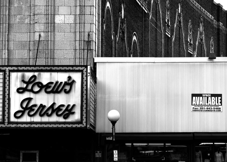 Loews, Jersey City Photography Art   Peter Welch