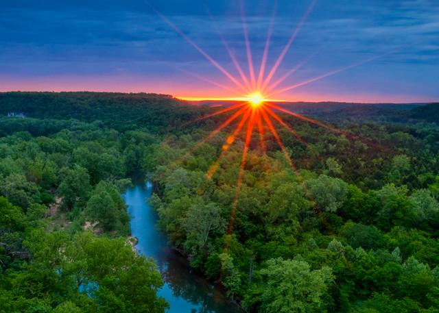 Richardson Bluff Sunrise Photography Art   Craig Primas Photography