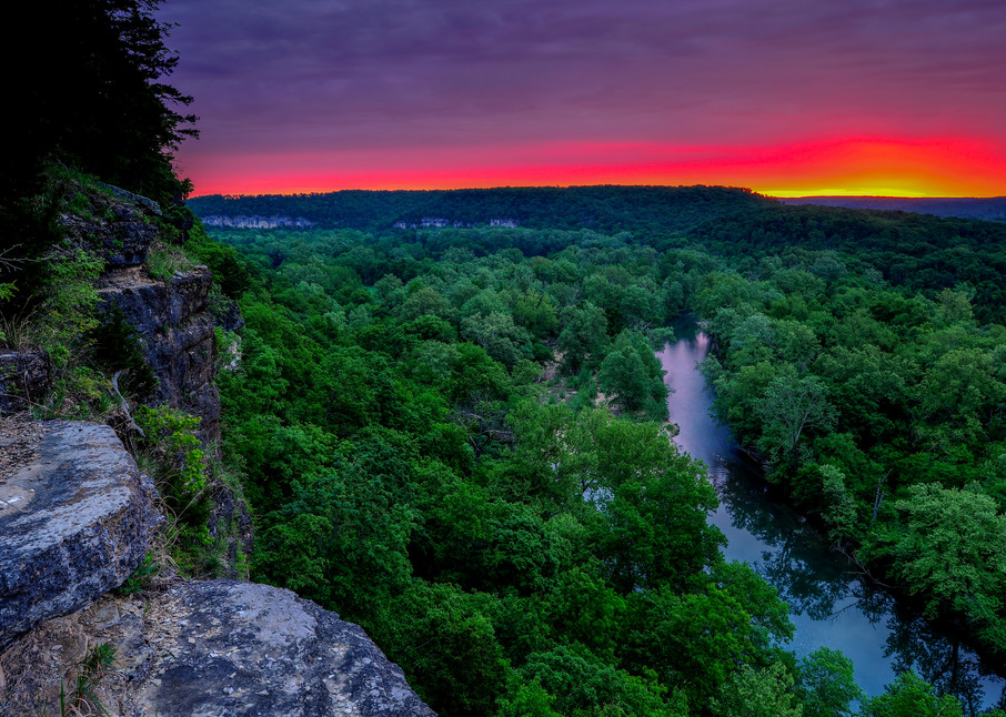 Richardson Bluff Sunrise 817 Photography Art | Craig Primas Photography