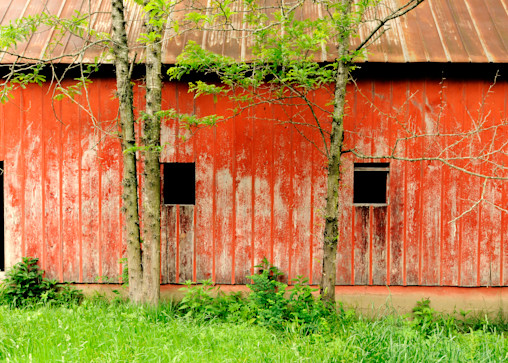 Ozark Red Barn Photography Art | Craig Primas Photography