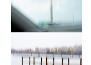 On the Road - Abstract Street Photography - Fine Art Print by Silvia Nikolov